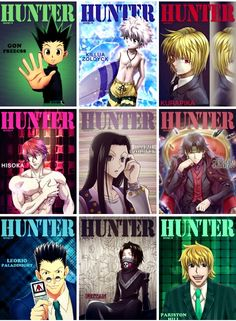 Hunter x Hunter magazine