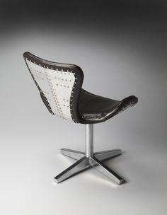 Leather aviator chair
