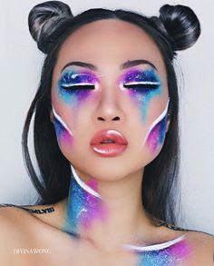 DREAMING / Instagram @divinawong  #makeup #makeupart