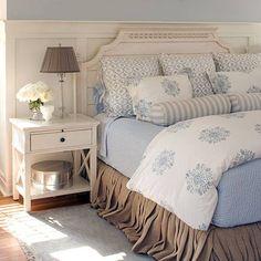 bedding....looks so inviting!