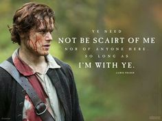 With Jamie Fraser, the only danger you'll be in is of falling in love. #Outlander