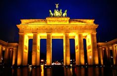 the Brandenburg in Berlin, Germany