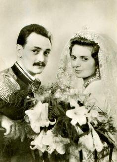 Count Joachim von Schonburg-Glauchau and Countess Beatrix Szechenyi von Sarvar und Feslovidek