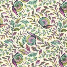 """Tula Pink """"Slow and Steady"""" for Free Spirit Fabrics-One Yard Cut -Pit Crew, Strawberry Kiwi, Snail Fabric, fun snail fabric Tula Pink Fabric, Cotton Fabric, Strawberry Kiwi, Free Spirit Fabrics, Modern Fabric, Couture, Decoration, Fabric Patterns, Bunt"""