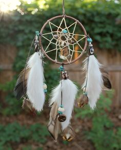 Luck & Health Dreamcatcher Copper / Turquoise Native by Dreamforum, $38.00
