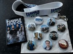 Some merch I purchased at Comic Con today in Glasgow 180817. Feeling very lucky to get this. #H50