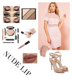 """""""Set#269 #nudelip"""" by anneclo2 ❤ liked on Polyvore featuring beauty, Kimchi Blue, Dolce&Gabbana, Elizabeth Arden, Burberry, Paul Andrew and nudelip"""