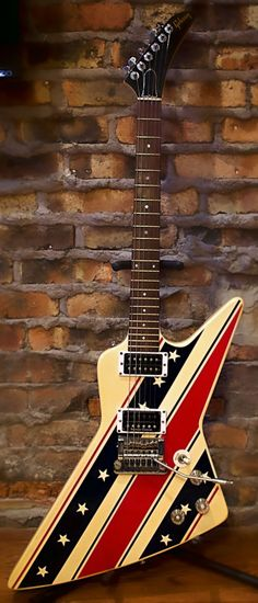 1984 Gibson Explorer Stars and Stripes