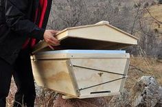 wintering a bee hive