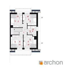 Projekt domu Dom w klematisach 20 (B) - ARCHON+ Floor Plans, Diagram, Floor Plan Drawing, House Floor Plans