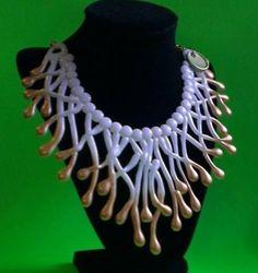Collar de polímero hot silicon necklace