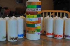 Candles and the Names of God