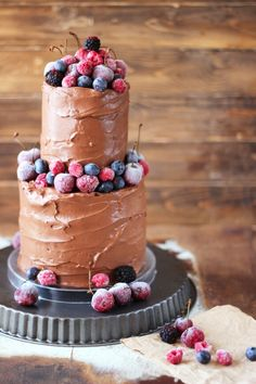 "Tarta de chocolate ""Happy Birthday"""