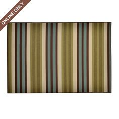 Vertical Striped Snyder Indoor/Outdoor Rug | Kirkland's