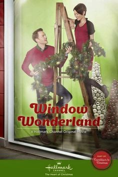 "Its a Wonderful Movie: Hallmark Christmas Movie ""Window Wonderland"""