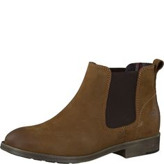 #TAMARIS Damen Chelsea Nubuk braun #Boots, #Chelsea Boots, #Damen, #Schuhe…