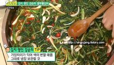 강순의 열무물김치담그는법 알토란 열무김치 맛있게 담그는법황금레시피 Korean Food, Kimchi, Asian Recipes, Sprouts, Vegetables, Cooking, Kitchen, Korean Cuisine, Vegetable Recipes