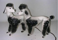 ceramic poodles