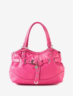 Picked up this cute pink Nine West purse today for summer!