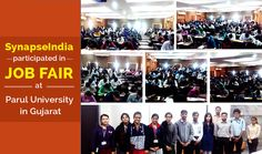 SynapseIndia, renowned IT outsourcing company, presented career opportunities in mega job fair event organized at Parul University in Vadodara, Gujarat. Get more details about Mega Job Fair at following links: http://tpogecbharuch.blogspot.in/2017/01/cost-free-for-all-branches-mega.html http://paruluniversity.ac.in/events/umeed-2017-2/