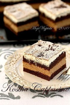 Chocolate Cappuccino layered cake