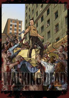 The Walking Dead ART   VK