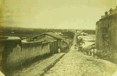 1860 - Ladeira do Carmo. Foto de Militão Augusto de Azevedo.