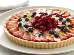 Fresh Fruit Tart Recipe : Paula Deen : Food Network - FoodNetwork.com