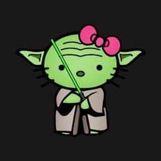 Yoda Hello Kitty!!!                                                                                                                                                                                 More
