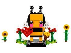 Valentine's Bee - 40270 | BrickHeadz | LEGO Shop