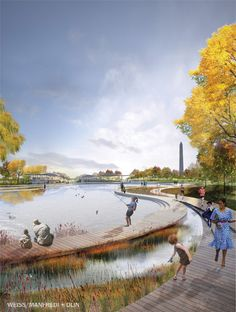 National Mall Design Competition Will Be Fierce Landscape Architecture Design, Landscape Architects, Architecture Jobs, Classical Architecture, Ancient Architecture, Sustainable Architecture, Wetland Park, Mall Design, Gardening Courses