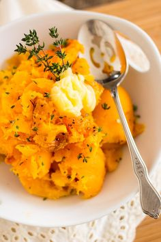 Oven Roasted Butternut Squash is a tasty and versatile side dish that goes good with just about anything, any time of day!