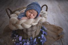 newborn, baby, girl, blue, newbornphotography