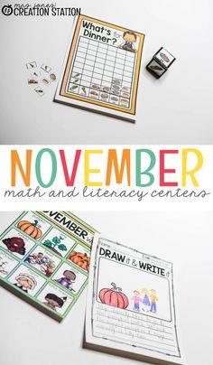 November Literacy an