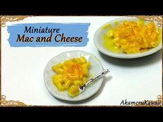 Cute, Miniature Mac and Cheese - Polymer Clay Tutorial - YouTube