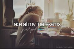♥ace my finals