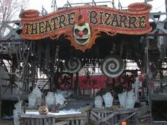 Tons of ideas for a Haunted Carnival-themed Halloween.