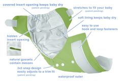 Cloth Diapers ~ Cloth Baby Diapers ~ Free Cloth Diaper Patterns ~ Cloth Diaper Covers and More!