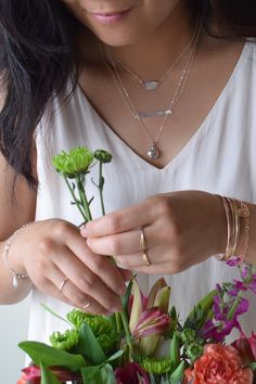 Looking for the perfect bridal party gifts? Olive Yew handmade jewelry is the answer! With personal initials to monograms, these dainty pieces are perfect. Perfect Gift For Mom, Gifts For Mom, Great Gifts, Mod Wedding, Wedding Day, Cute Bridesmaids Gifts, Diy Wedding Gifts, Party Gifts, Handmade Jewelry