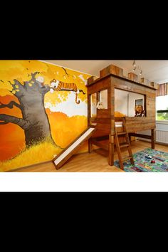 Love this for a little boys room!