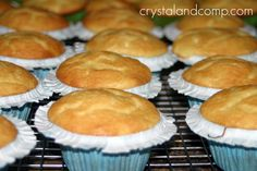 Best Cupcake Recipe Ever! ♥ ♥ ♥ This is my go to recipe for cupcakes! Use cake mix & cream cheese! Moist & tasty a never fail recipe!   1 pkg plain butter golden boxed cake mix  1 8oz pkg reduced fat cream cheese, at room temperature  1/2 cup sugar  1/2 cup water  1/2 cup vegetable oil  4 large eggs  1 T vanilla extract