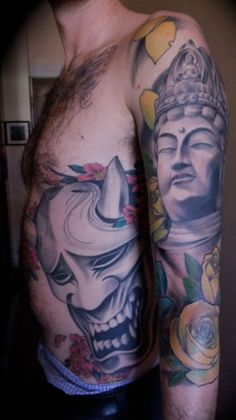 scale & placement Buddha Tattoos - Tattoos.net