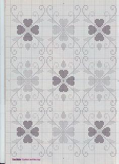 Cross Stitch Heart, Cross Stitch Borders, Cross Stitch Flowers, Cross Stitch Designs, Cross Stitching, Cross Stitch Embroidery, Cross Stitch Patterns, Crochet Flower Patterns, Crochet Stitches Patterns