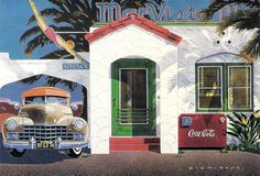 Mar Vista Motel Dennis Ziemienski Paper Moon Graphics