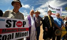 Graham Readfearn: Religious leaders are taking on coal with polite letters and coal blockades and say they're in it for the long haul in the name of climate change