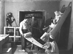 Howard Carter - Tumba Tutankhamón - KV62 - 1922