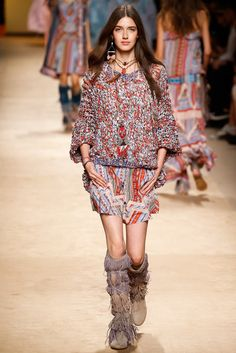 Etro Spring 2015 Ready-to-Wear Fashion Show - Josephine van Delden