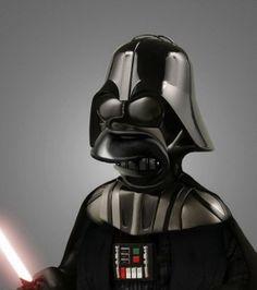 Dath Vader + Homer Simpson