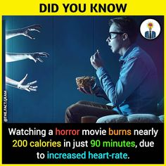 Reasons Why We should watch horror movies - All the Interesting Information You're Wondering Here True Interesting Facts, Interesting Facts About World, Intresting Facts, Interesting Information, Wierd Facts, Wow Facts, Real Facts, Wtf Fun Facts, Funny Facts