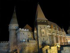 Hunedora Castle in Romania.